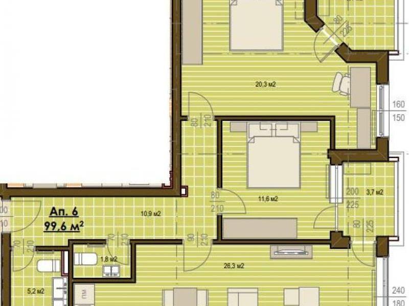тристаен апартамент софия w33q2lcj