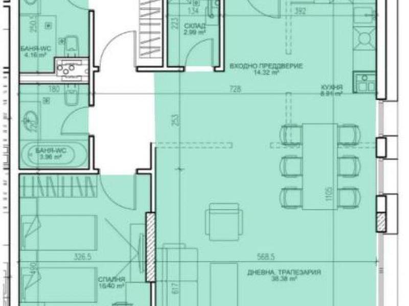 тристаен апартамент софия w972cwrm