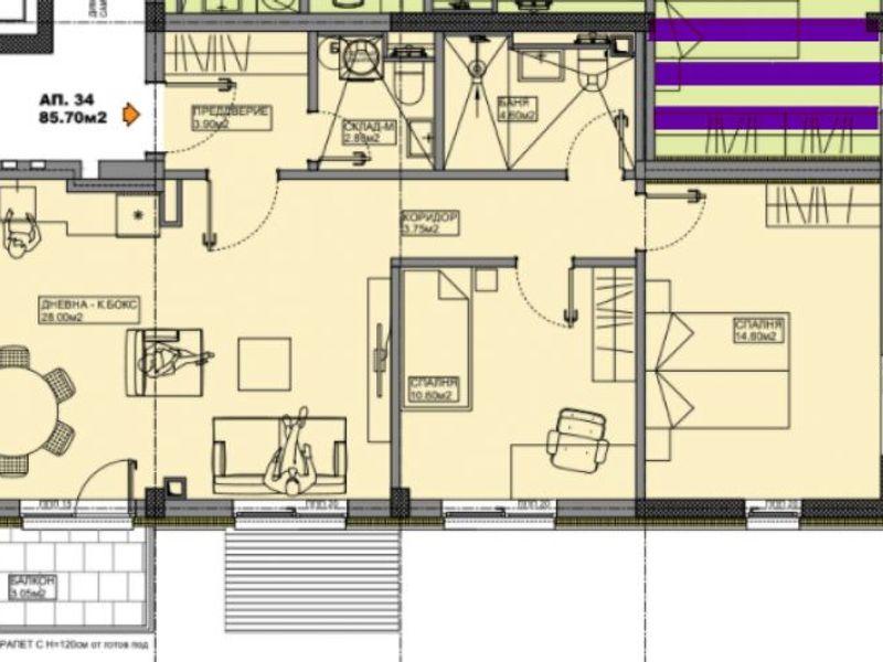 тристаен апартамент софия w9urvvsw