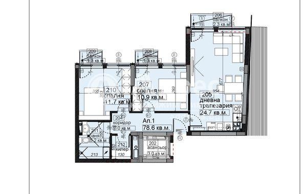 тристаен апартамент софия wsyca1kr