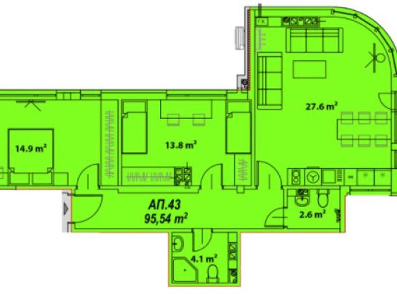 тристаен апартамент софия wu7h545r