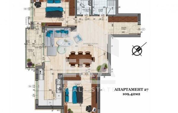 тристаен апартамент софия y836njrx