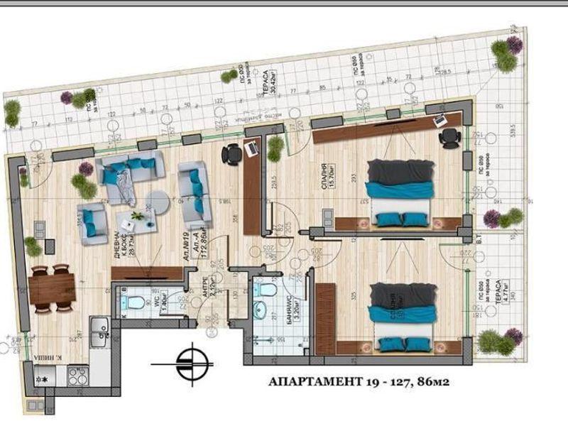 тристаен апартамент софия ysmvsbcn