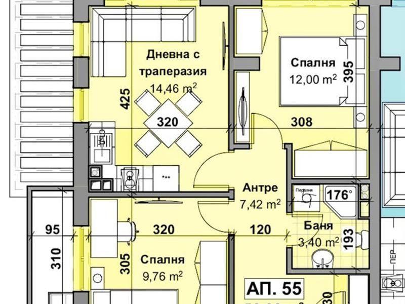 тристаен апартамент стара загора e9vrku46