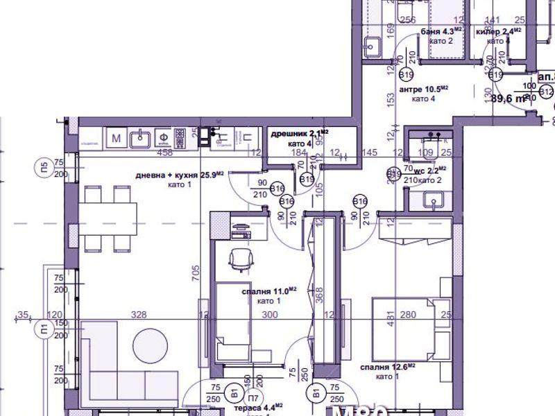 тристаен апартамент стара загора q41hxjw4