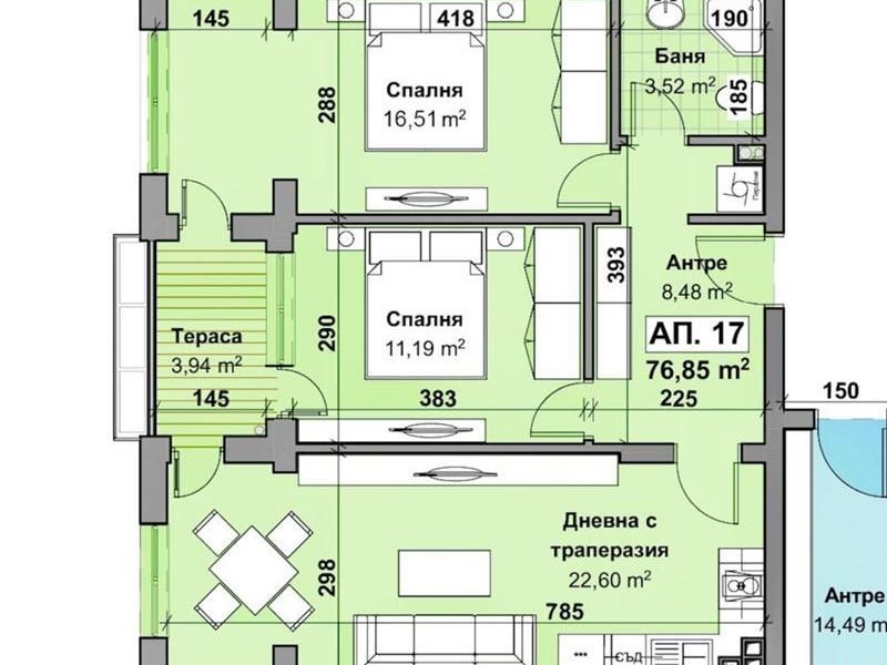 тристаен апартамент стара загора ur6pr5hf