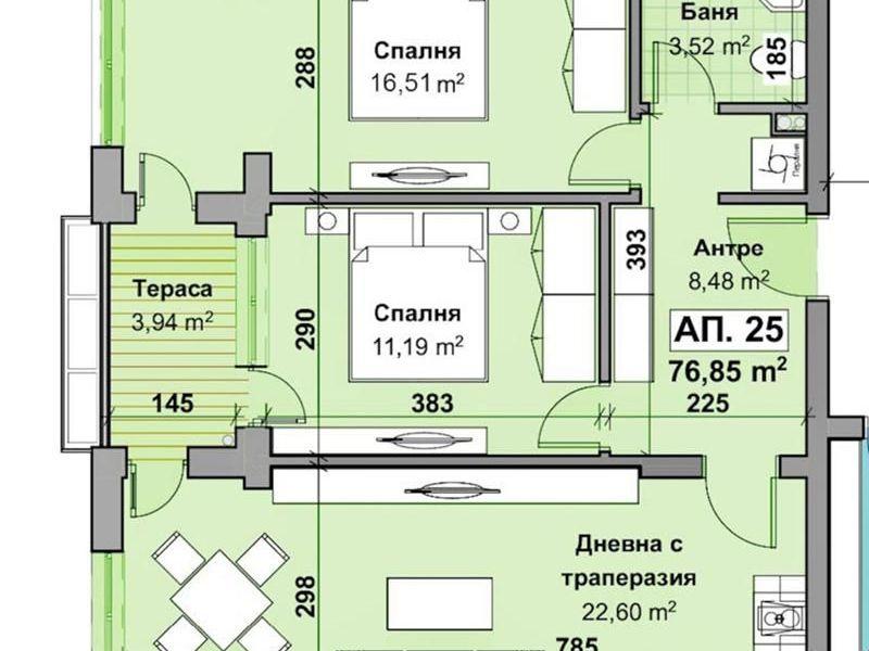 тристаен апартамент стара загора x7rjt7x4
