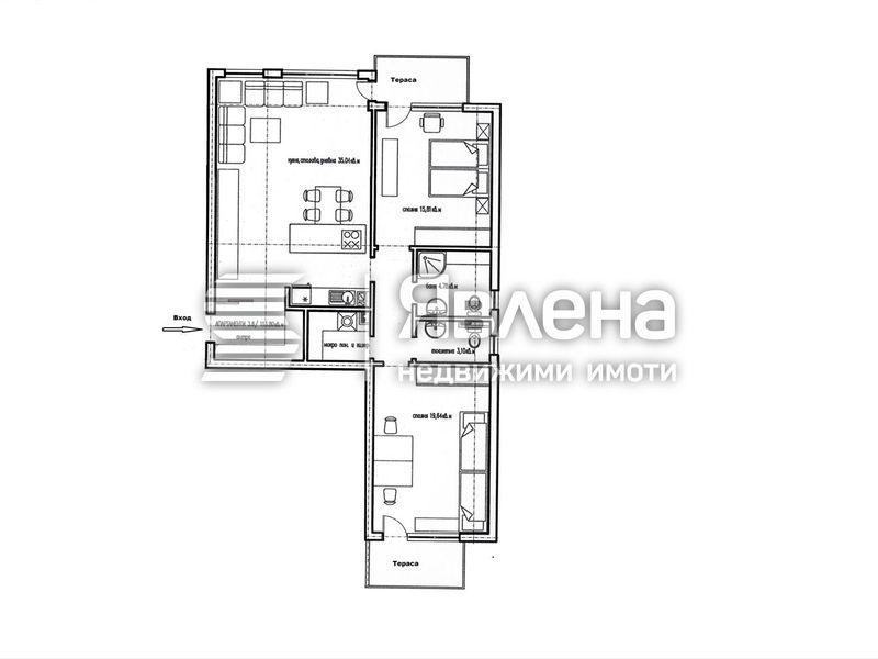 тристаен апартамент ямбол aa2fwrs8